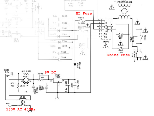 lcd backlight inverter schematic